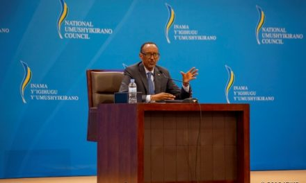Le Président Kagame a abordé les rapports actuels du Rwanda avec le Burundi et avec l'Afrique du Sud