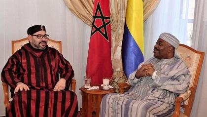 Hospitalisé à Rabat, Ali Bongo Reçoit la Visite du Roi Mohammed VI