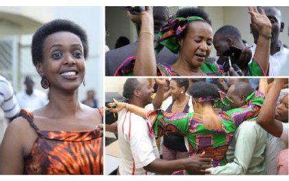 Diane Rwigara na nyina Mukangemanyi bagizwe abere (Amafoto & Video)