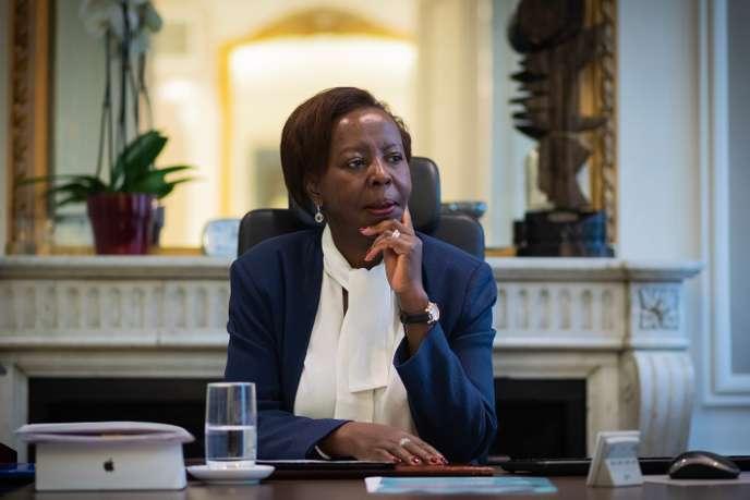 Entre Paris et Kigali, le jeu d'équilibriste de Louise Mushikiwabo