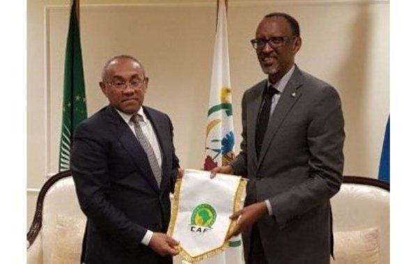 Le Président Kagame attendu le 8 janvier à Dakar pour les CAF Awards 2018