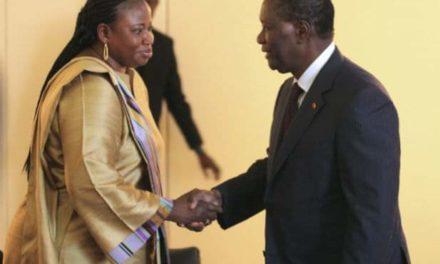 LA PROCUREURE BENSOUDA A REÇU L'ARGENT DE LA FRANCE ET DES MARCHÉS EN CÔTE D'IVOIRE