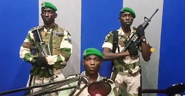 Les cinq Officiers mutins de l'armée gabonaise ont été arrêtés