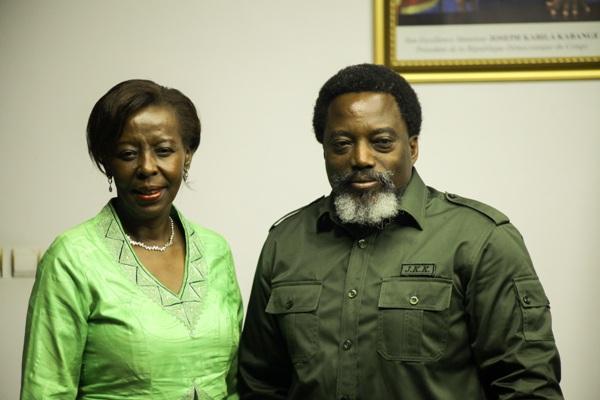 Louise Mushikiwabo appelle au maintien d'un climat apaisé en RDC