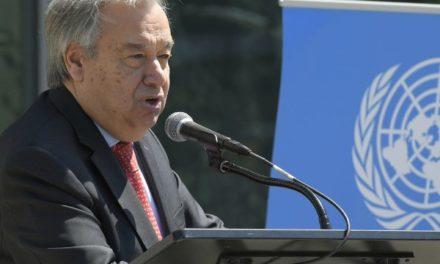 Le chef de l'ONU appelle les citoyens du monde à défendre la dignité humaine en 2019