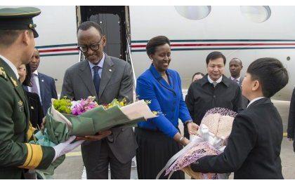 Perezida Kagame na Madamu baragirira uruzinduko rw'iminsi ibiri mu Buyapani