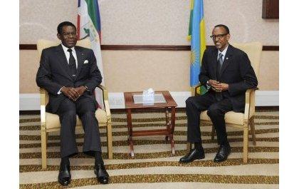 Le président équato-guinéen annonce sa visite à Kigali