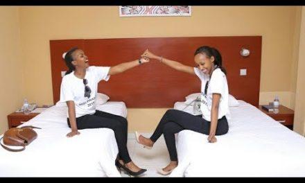 Abakobwa bageze mu byumba bazabamo||Miss Rwanda 2019