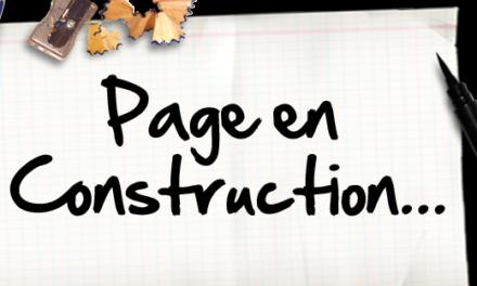 Page en constuction