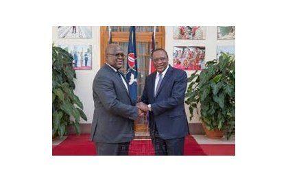 Le président Tshisekedi rencontre Kenyatta pour une discussion sur les relations bilatérales