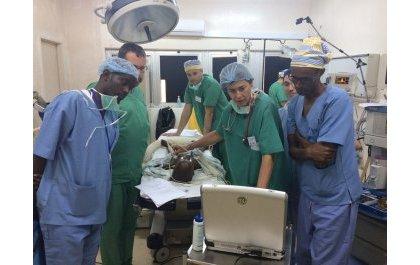 Une quinzaine médicale réussie des cardio-chirurgiens pédiatres belges à Kigali