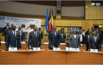 Paul Kagame pressenti pour diriger l'EAC pour 2019