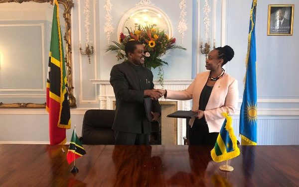 Le Rwanda et Saint-Kitts-et-Nevis établissent des relations diplomatiques