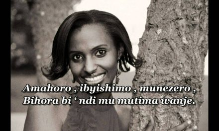 AMAHORO by Gaby with Lyrics