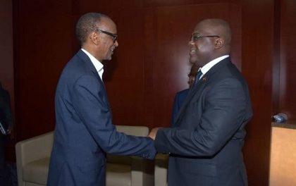 RDC – RWANDA : Tête-à-Tête Kagame-Tshisekedi