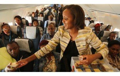 La RD Congo accueille avec enthousiasme le vol inaugural de RwandAir.