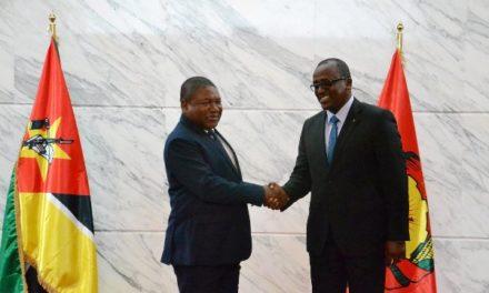 L'Ambassadeur du Rwanda présente ses lettres de créance au Président mozambicain