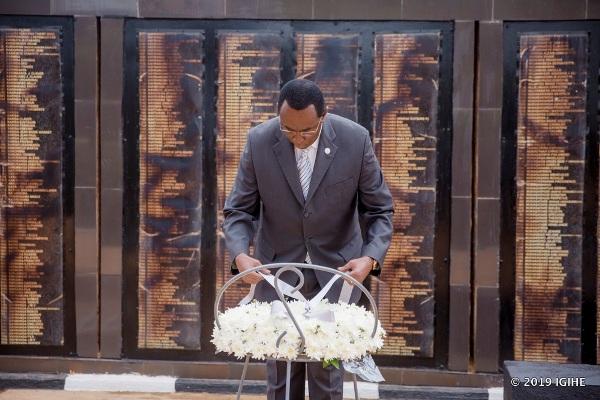 Le Président du Sénat exhorte les pays à créer des lois pour lutter contre l'Idéologie du Génocide