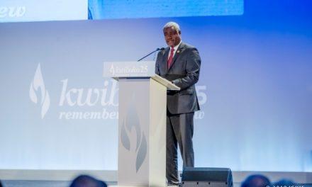 «L'Afrique doit combattre les idéologies de haine responsables des crimes de masse» -Moussa Faki Mahamat