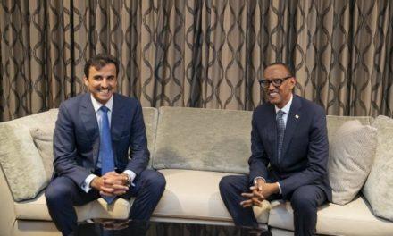 L'emir qatari au Rwanda pour une visite de travail de trois jours