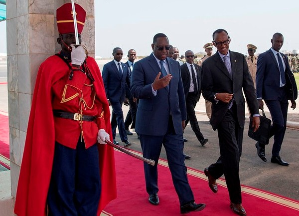 Le Président Kagame a participé à la prestation de serment de son homologue sénégalais