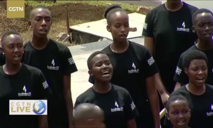 Live Memorial ceremony of Rwandan genocide