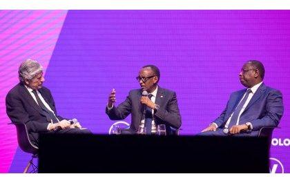 Kagame confiant dans la numérisation des activites economique comme moteur de progrès pour l'Afrique