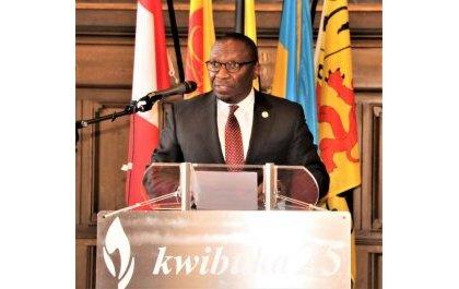 U Bubiligi: Kwibuka ni ugushyira hamwe umuryango nyarwanda –Amb.Rugira