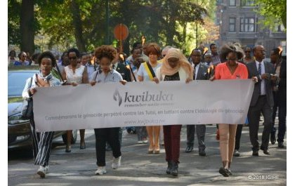U Bubiligi: Abanyarwanda batuye muri Charleroi bateguye igikorwa cyo Kwibuka Jenoside yakorewe Abatutsi