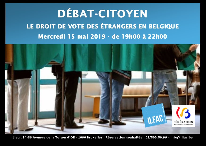 RAPPEL [Débat-citoyen ILFAC 15/0] Le droit de vote des étrangers