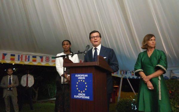 «L'Union Européenne et le Rwanda collaborent pour impliquer le Secteur Privé à créer des emplois» -Amb. Nicola Bellomo
