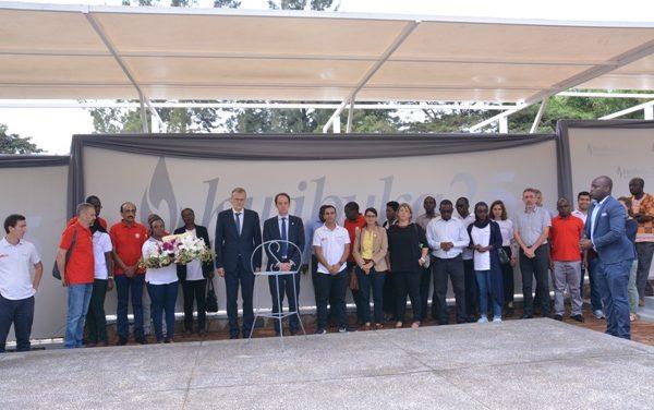 «L'éducation est importante pour construire l'avenir du Rwanda après le Génocide des Batutsi» -Jean Van Wetter