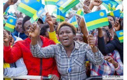 Kagame a Musanze sur le lieu de ses promesses de developpement de la region en 2017.