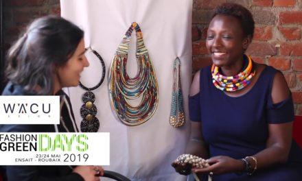 Fashiongreendays IWACU DESIGN avec Alice Durand