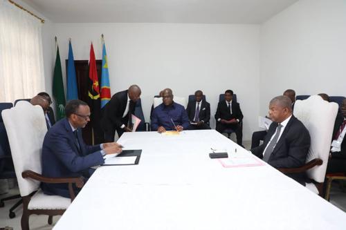 La RDC, l'Angola et le Rwanda décident de rétablir la sécurité dans la région des Grands lacs