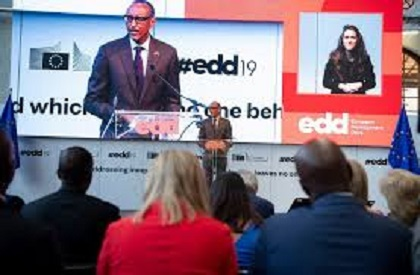 Kagame  participe aux Journées Européennes de Développement et exige moins de conditions draconniennes