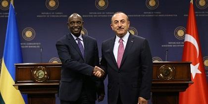 TURKEY – RWANDA :  Réunion de Travail Entre le Ministre Sezibera  et son Homologue Turc à Ankara