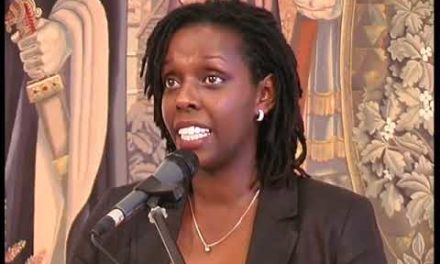 Discours de Félicité Lyamukuru, la Présidente d'Ibuka Belgique A l%u2019 Hôtel de