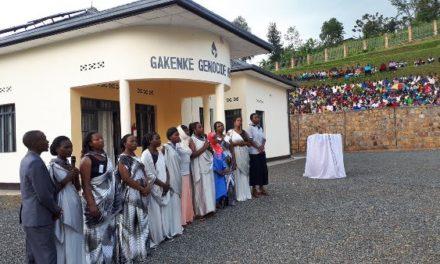 Commémoration des familles anéanties à Gakenke