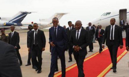 Flash : Paul Kagame est arrivé à Kinshasa
