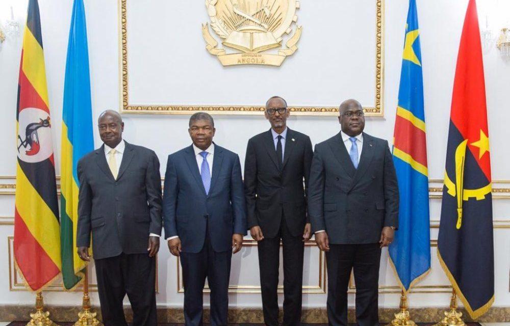 L'Angolais Lorenço favorise un rapprochement Rwanda-Uganda