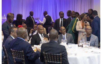 Rencontre au Nigéria de Kagame,Tshisekedi et le Premier ministre ugandais en marge de TEF