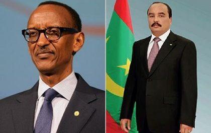 MAURITANIE –RWANDA : Voeux du Président Ould Abdel Aziz au Président Kagame
