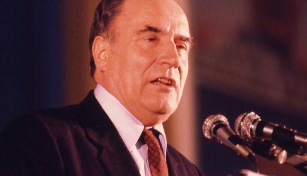 Quand François Mitterrand visitait la Corée du Nord de Kim Il-sung