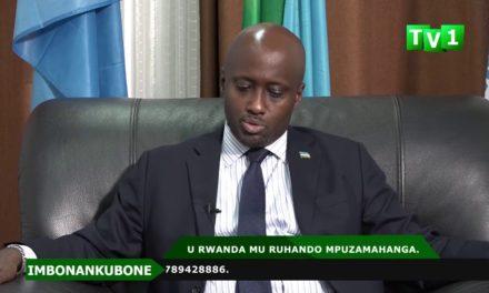 U Rwanda mu ruhando mpuzamahanga – Ikiganiro na Olivier NDUHUNGIREHE.