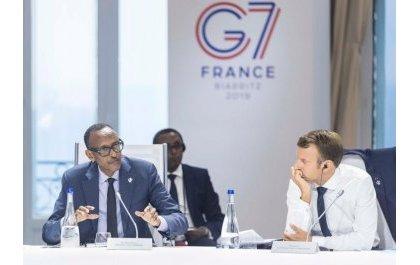 Perezida Kagame yashimye uko umugabane wa Afurika wahawe umwanya mu nama ya G7