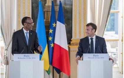 Iby'ingenzi mu nama  ya G7 Perezida Kagame yatumiwemo akazaganiriramo  na Emmanuel Macron