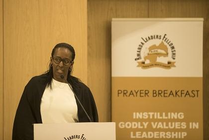 La Première Dame du Rwanda Jeannette Kagame Invitée  d'Honneur de « Rwanda Leaders Fellowship (RLF) Organization ».
