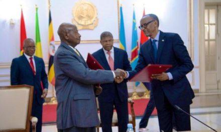 Signature à Luanda d'un mémorandum d'entente entre le Rwanda et l'Ouganda