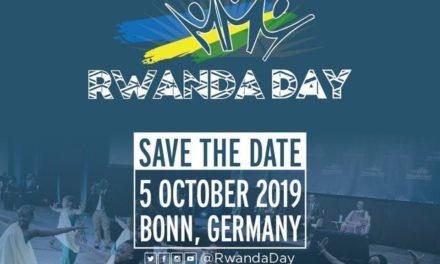 Rwanda day a Bonn se tiendra le 5 octobre 2019